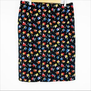 Philosophy Colorful Floral Pencil Skirt - 12